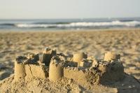Château de sable. Crédit-photo: David Perau