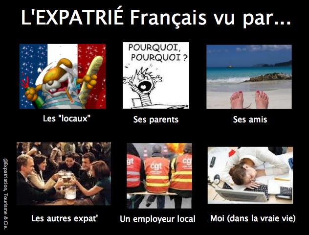 Humour expatriation : Les Français vivant à l'étranger vus par...