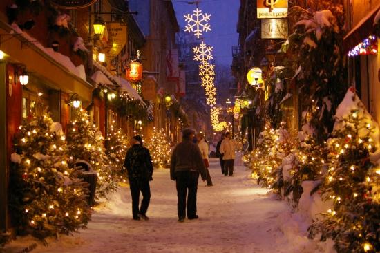 Expat' : Noël sous la neige.